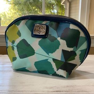 BRIGHTON Blue Green Cosmetic Travel Bag Pouch